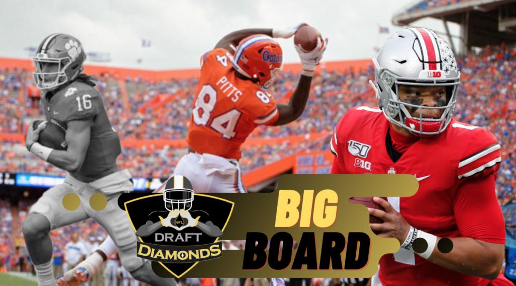 NFL Draft Diamonds Big Board