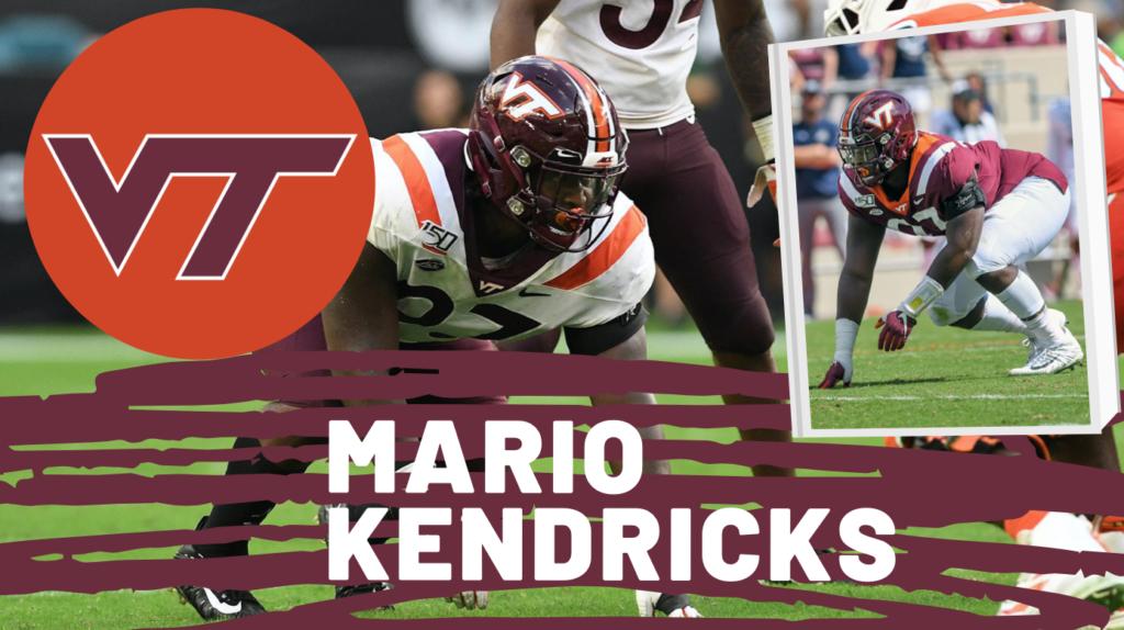 Mario Kendricks Virginia Tech