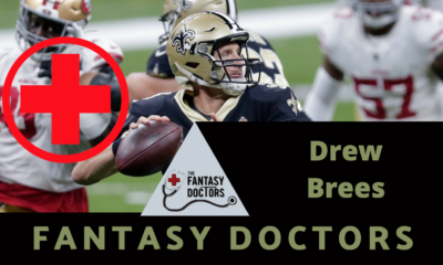 Drew Brees Fantasy Doctors rib injury
