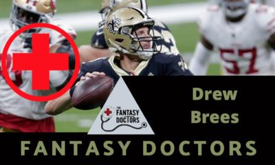 Drew Brees Fantasy Doctors rib injury