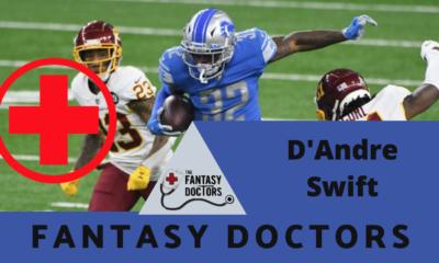 D'Andre Swift Lions Fantasy Doctors