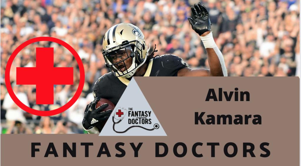 Alvin Kamara Saints Fantasy Doctors