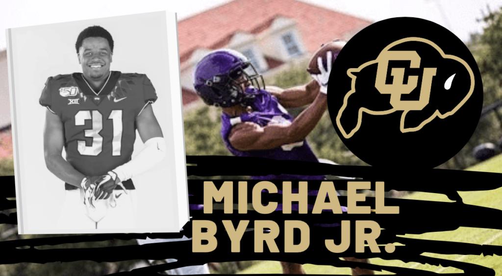 Colorado WR Michael Byrd Jr.