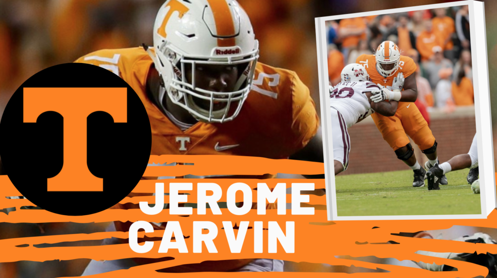 Jerome Carvin Tennessee Draft Buz