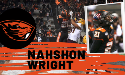 Nahshon Wright Oregon State 2021 NFL Draft