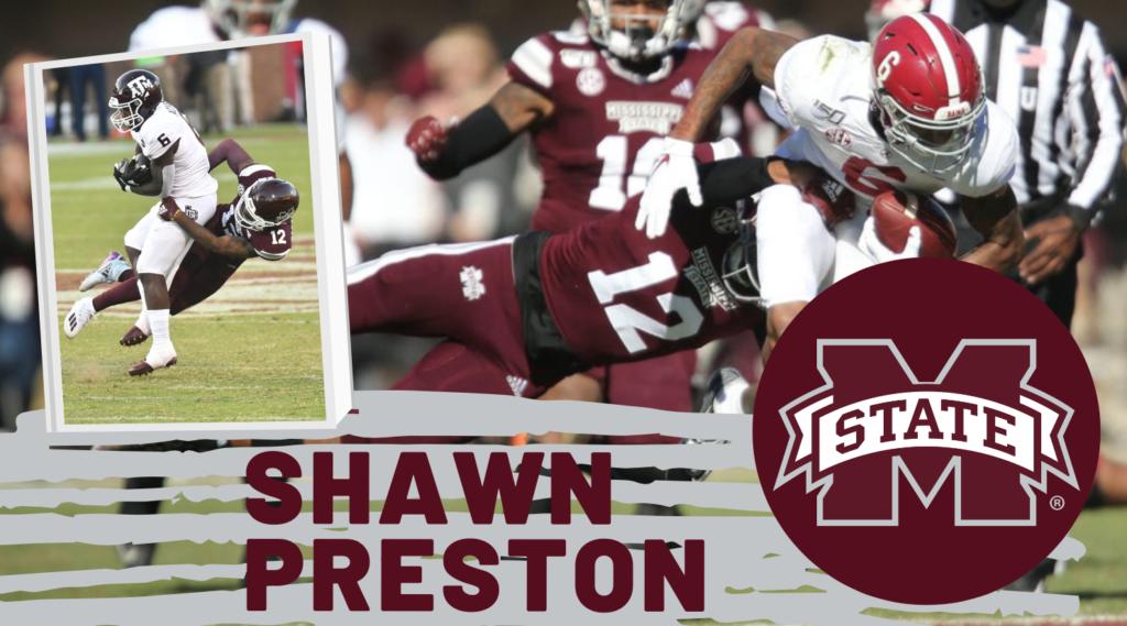 Shawn Preston Mississippi State NFL Draft