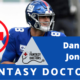 Daniel Jones Giants Fantasy Doctors