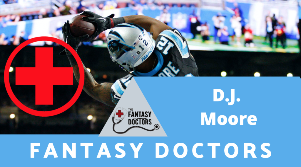 D.J. Moore Panthers Fantasy Doctors