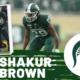 Shakur Brown Michigan State