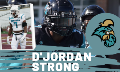 D'Jordan Strong Coastal Carolina Chanticleers