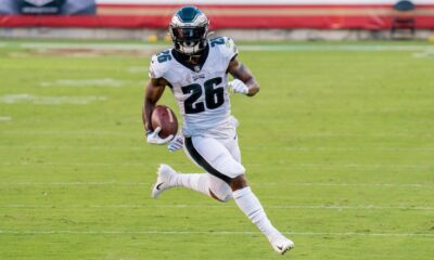 Miles Sanders Eagles INjury update