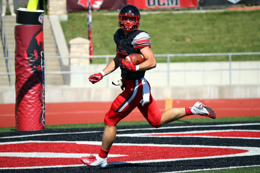 Zach Davidson UCM Tight End Scouting Report