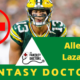 Allen Lazard Fantasy Doctors Injury Update