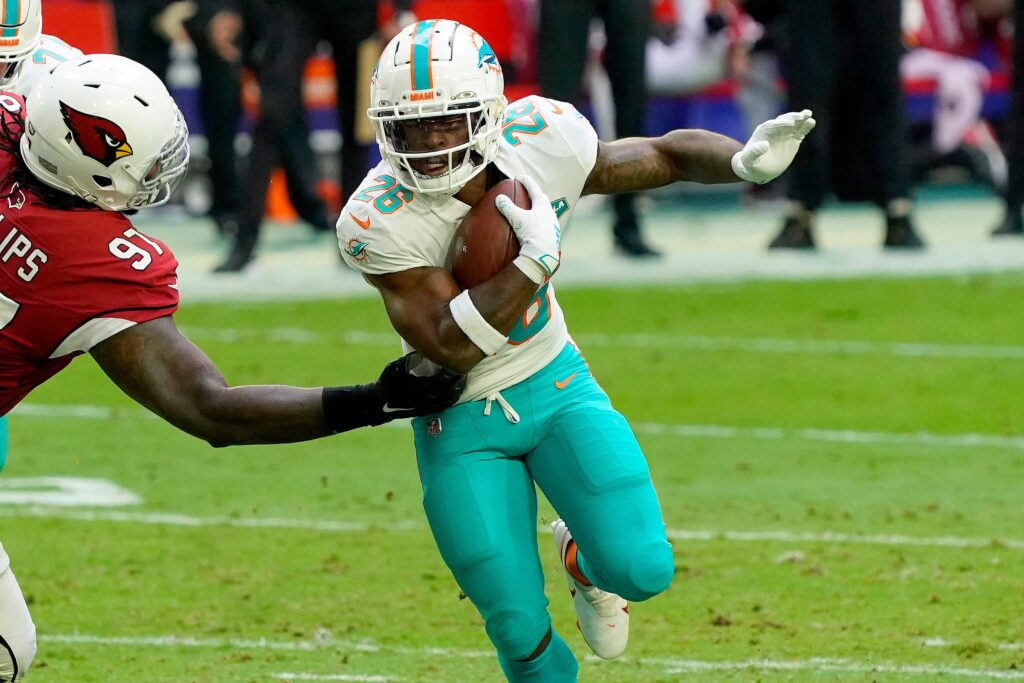 Salvon Ahmed Dolphins RB Fantasy