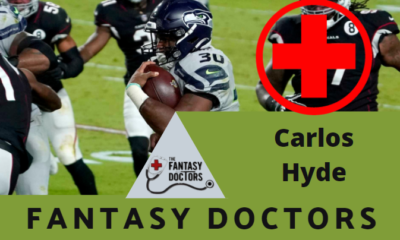 Carlos Hyde Seahawks Fantasy Doctors Injury Update
