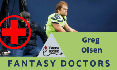 Greg Olsen Fantasy Doctors Injury Update