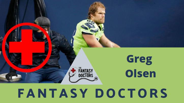 Greg Olsen Fantasy Doctors Injury Update