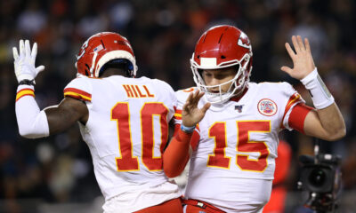 Chiefs Fantasy Studs Mahomes Tyreek Hill