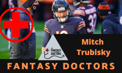 Mitch Trubisky Injury Update Fantasy Doctors