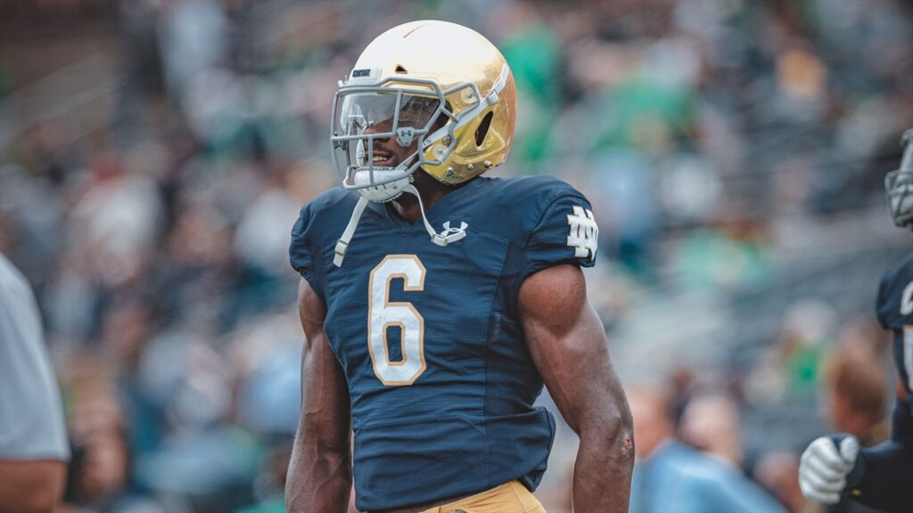 Jeremiah Owusu-Koramoah Notre Dame NFL Draft