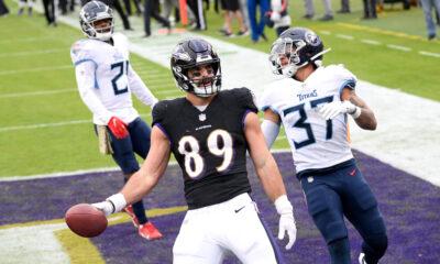 Mark Andrews Injury Update Ravens tight end