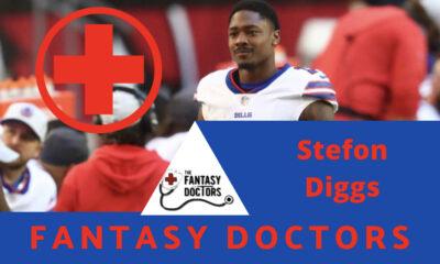 Stefon Diggs Fantasy Doctors Injury Update