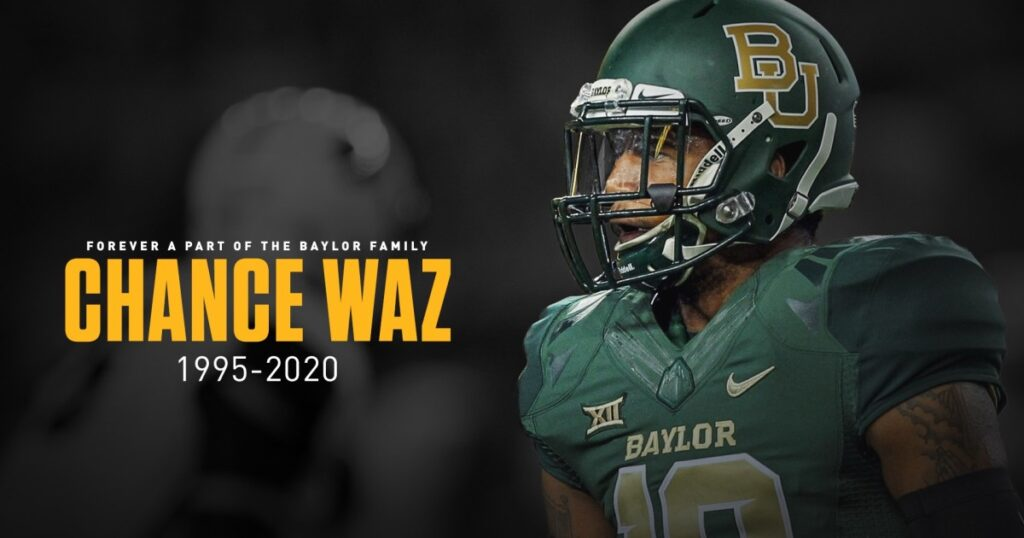 Chance Waz Baylor NFL