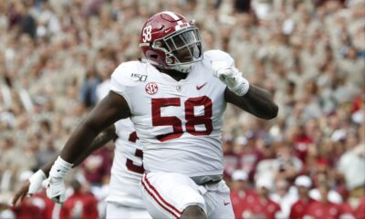 Christian Barmore Alabama NFL Draft