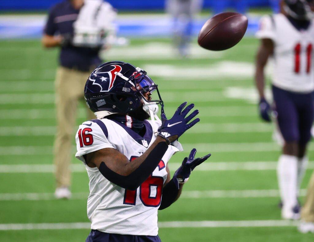 Keke Coutee Houston Texans Fantasy
