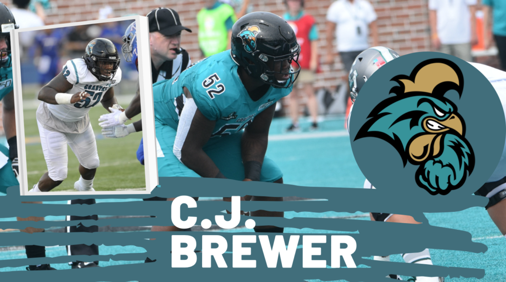 C.J. Brewer Coastal Carolina Draft Breakdown