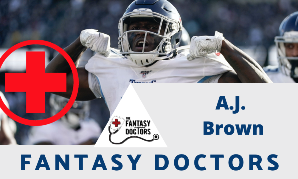 A.J. Brown Fantasy Doctors Titans injury update