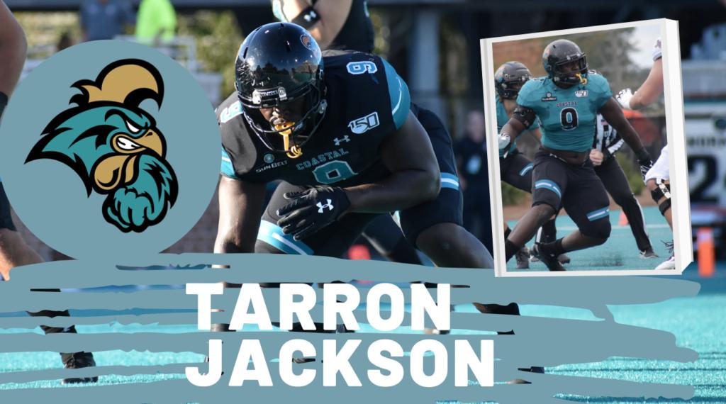 Tarron Jackson Coastal Carolina NFL Draft