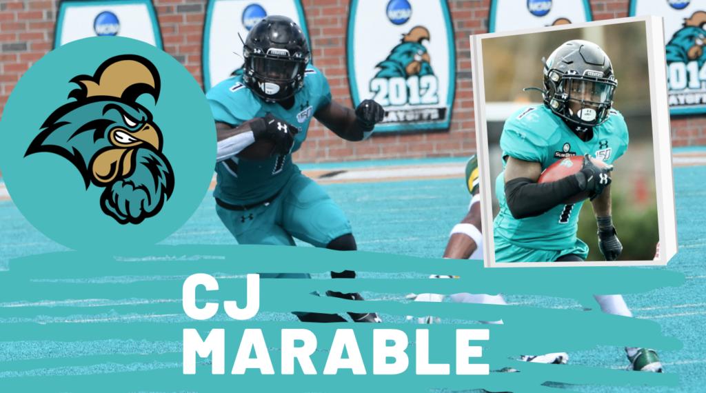 C.J. Marable Coastal Carolina NFL Draft