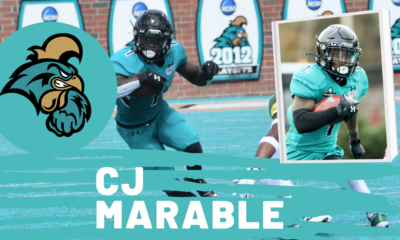 C.J. Marable Coastal Carolina NFL Draft