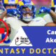 Cam Akers Fantasy Football Fantasy Doctors