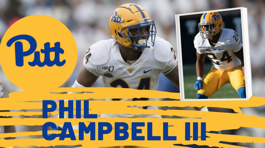 Phil Campbell Pittsburgh Panthers NFL Draft