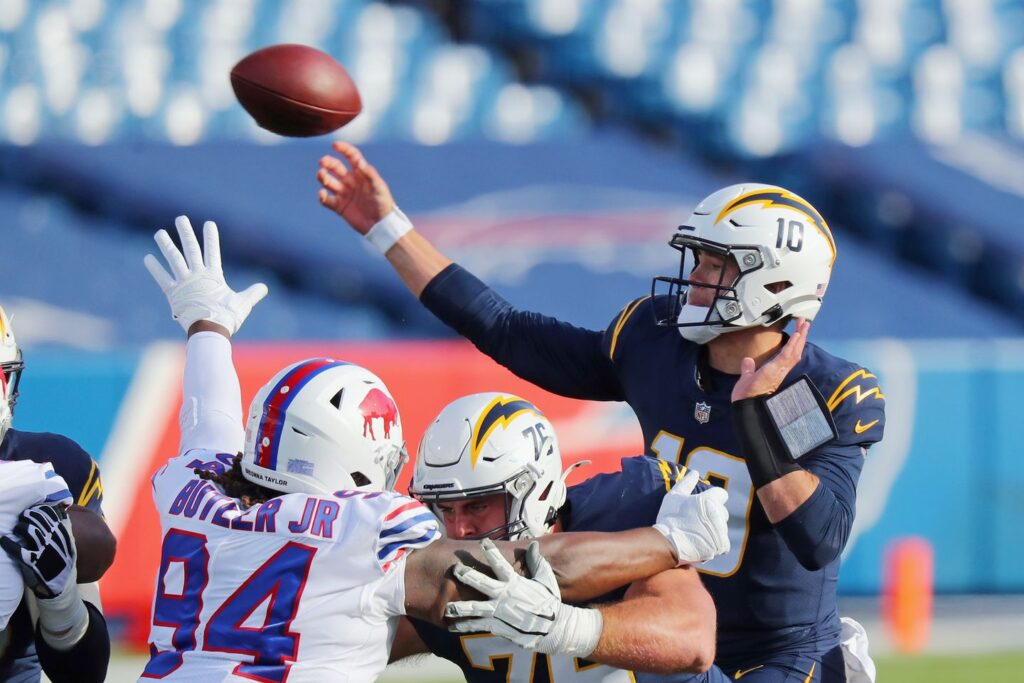 Justin Herbert Chargers Rookie of the Year