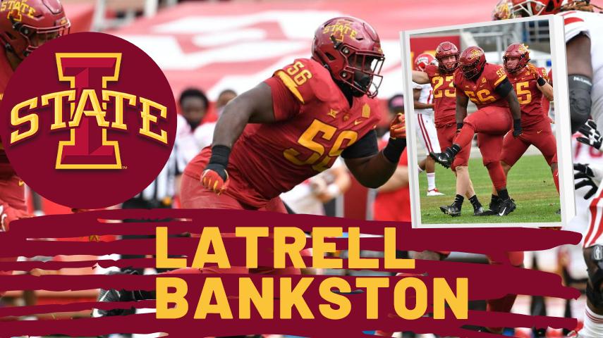Latrell Bankston Iowa State Draft NFL Draft