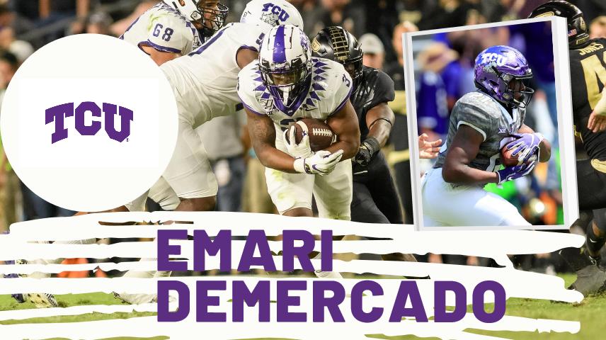 Emari Demercado TCU 2021 NFL Draft