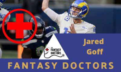 Jared Goff Rams Fantasy Doctors Injury Update