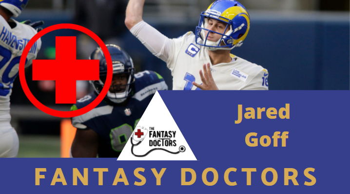 Jared Goff Rams Fantasy Doctors Injury Update