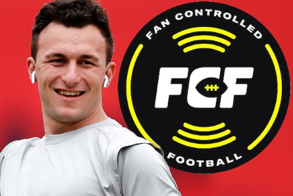 Johnny Manziel FCF Fan Controlled Football