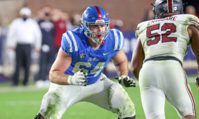 Nick Broeker Ole Miss 2021 NFL Draft