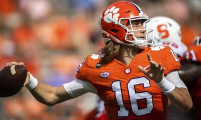 Jesus Christ Trevor Lawrence Jaguars Draft