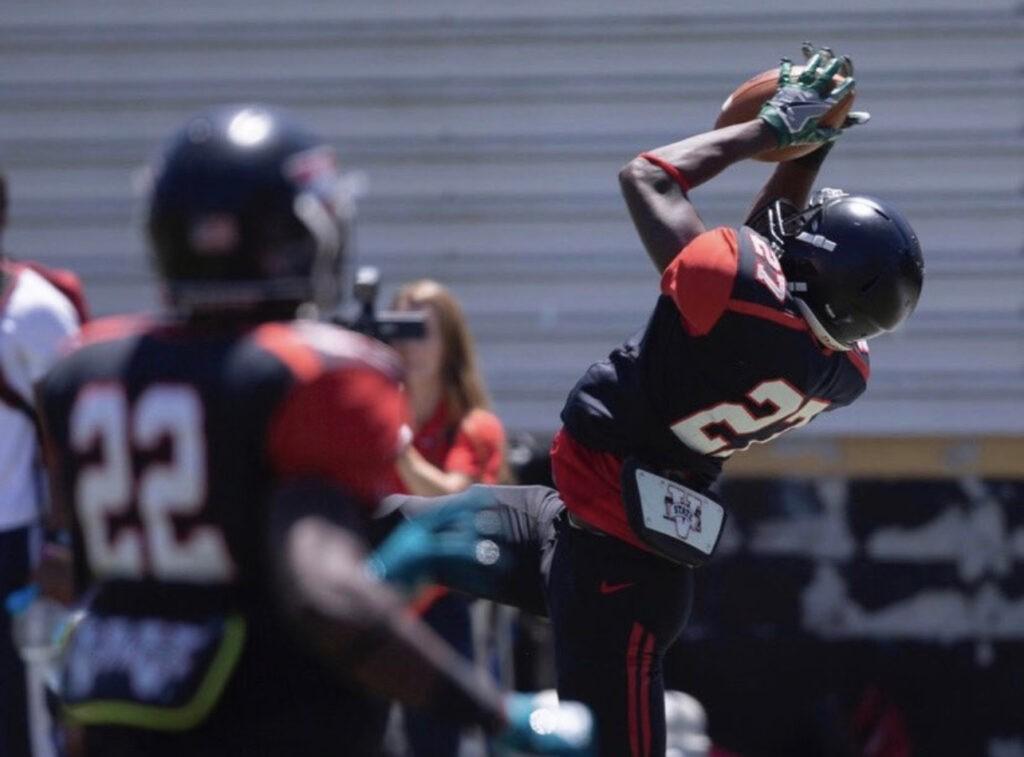 Felix Dixon Valdosta State 2021 NFL Draft