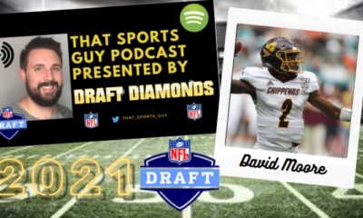 David Moore Central Michigan 2021 NFL Draft