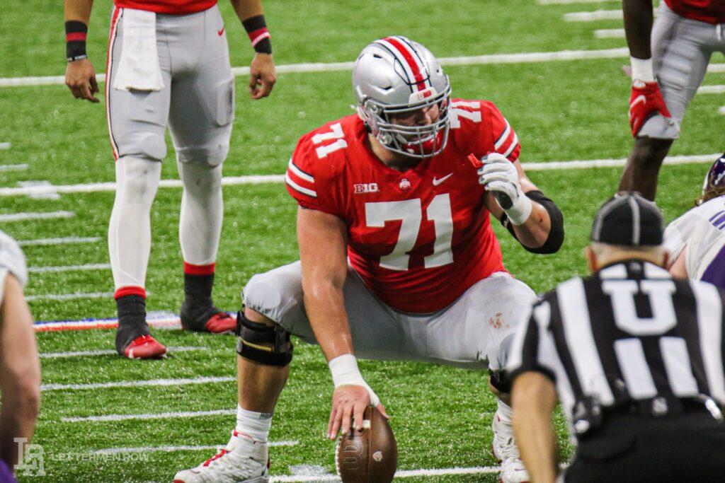 Josh Myers Ohio State NFL Draft 2021