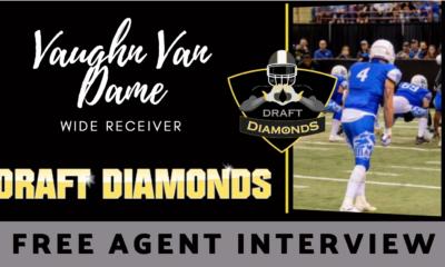 Vaughn Van Dame NFL Draft Free Agent WR