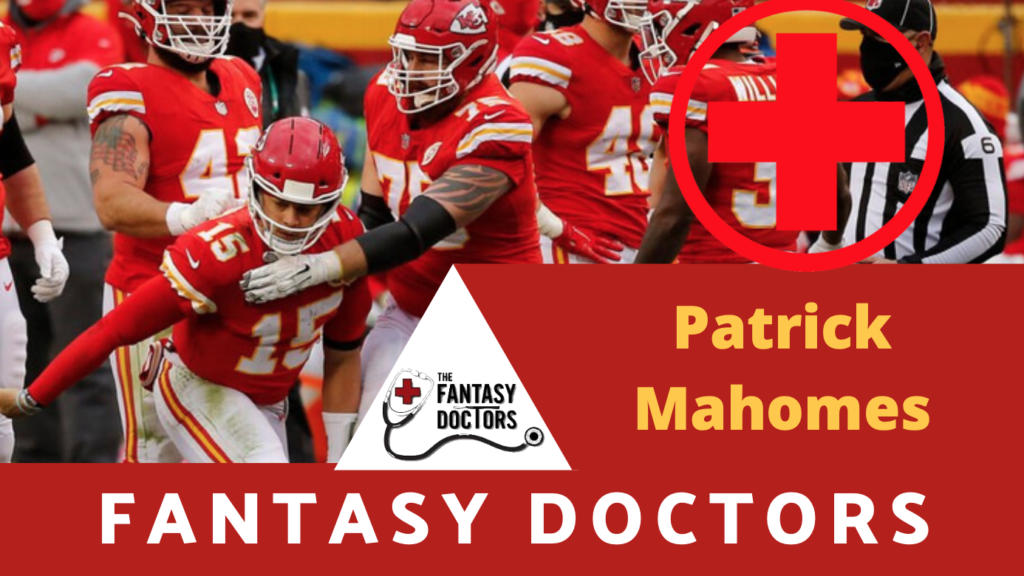 Patrick Mahomes Chiefs Fantasy Doctors
