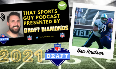Ben Knutson Tulane NFL Draft That Sports Guy Podcast